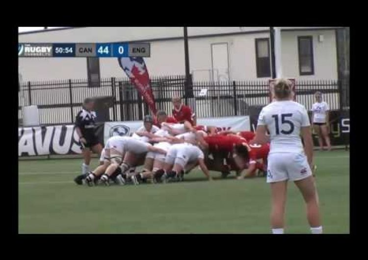 Highlights from Women's Super Series win for Canada vs England