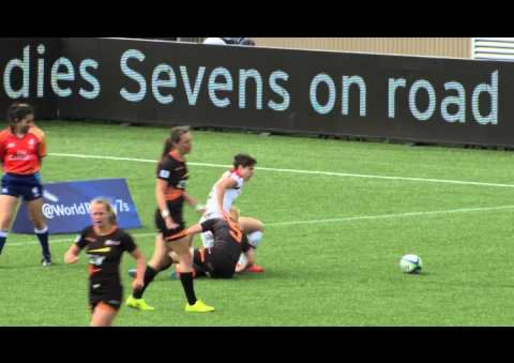 Rugby Canada Women's Sevens - Day 1 Highlights - Amsterdam 7s