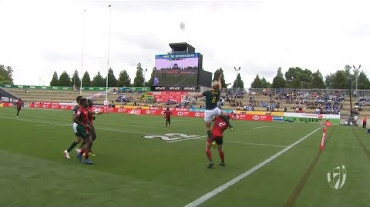 RE:LIVE: Brilliant South Africa athleticism leads to try