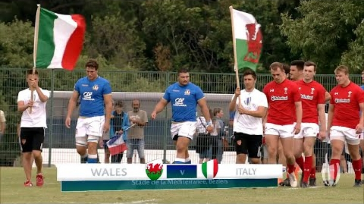Wales 34-17 Italy - World Rugby U20 Championship Highlights