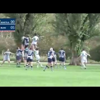 Rugby higlights: Seattle Saracens at Burnaby Lake