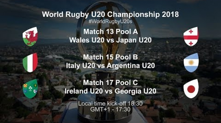 World Rugby U20 Championship Day 3 - Wales U20 v Japan U20