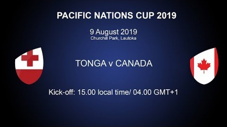 Pacific Nations Cup 2019 - Tonga v Canada