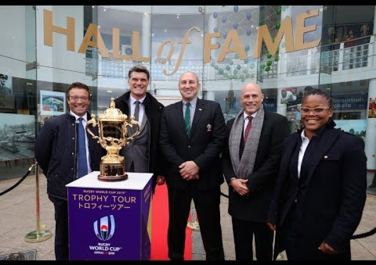 Five legends inducted into the World Rugby Hall of Fame