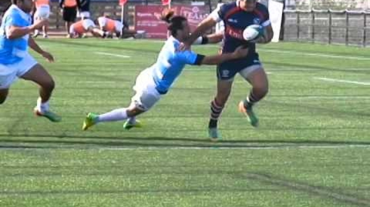 AMERICAS RUGBY CHAMPIONSHIP DAY 1 HIGHLIGHT