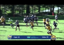 Rugby highlights: Caps v Velox, Women's premier league - Feb 28, 2015