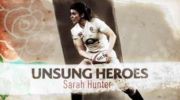 England captain Sarah Hunter's unsung rugby hero