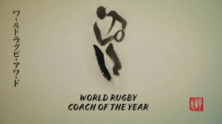 Rassie Erasmus wins World Rugby Coach of the Year