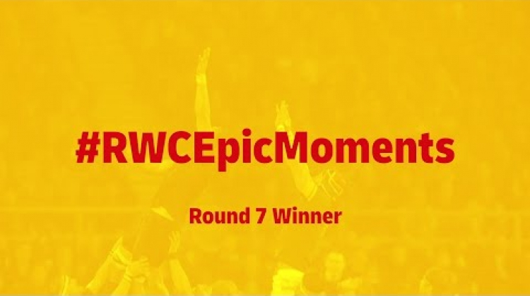 South Africa's RWC Final try wins Round 7 of RWC Epic Moments