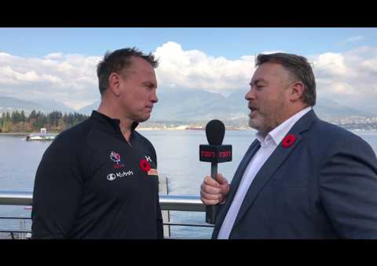 One-on-One interview of Canada Head Coach Kingsley Jones