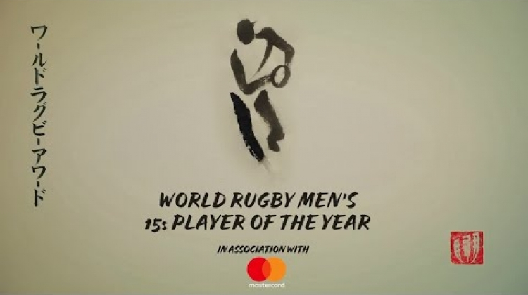 Pieter-Steph Du Toit wins World Rugby Men's 15s Player of the Year