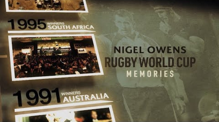 Nigel Owens | Greatest Rugby World Cup Memories