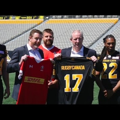 Hamilton Tiger-Cats welcome Rugby Canada to Tim Hortons Field
