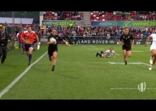 Relive: Wianata turns on the gas to score fantastic try for New Zealand