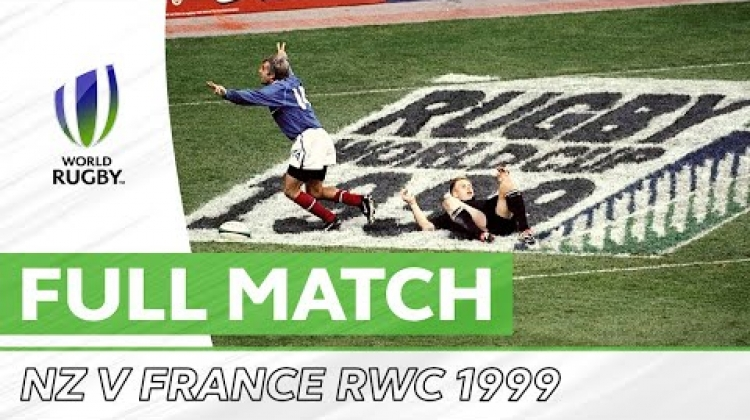 Rugby World Cup 1999 Semi-Final: New Zealand v France