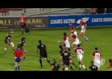 What a try! France go length of the pitch to score phenomenal try