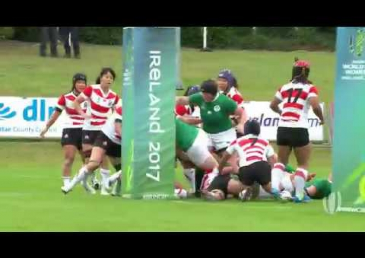 Fitzpatrick scores winner for Ireland v Japan - WRWC 2017