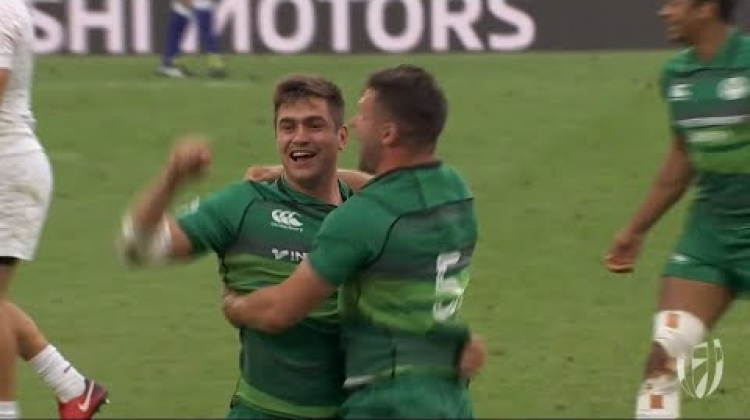 EPIC! Ireland take Bronze at the London Sevens