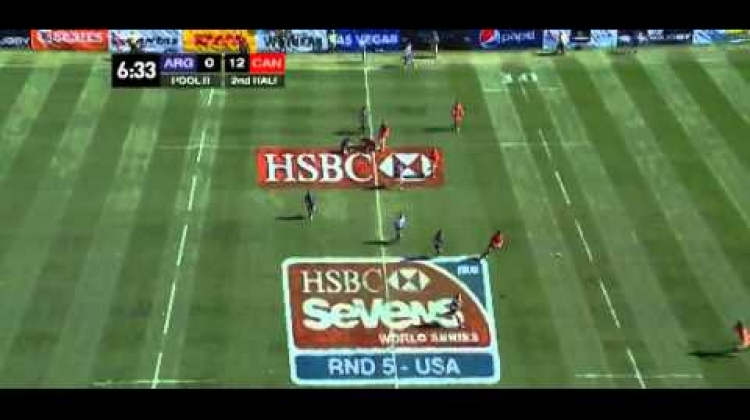 Canada defeat Argentina to go to the Cup round at USA 7s 2015