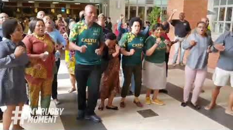 South Africa reacts to Springboks Rugby World Cup 2019 win | #MyRugbyMoment