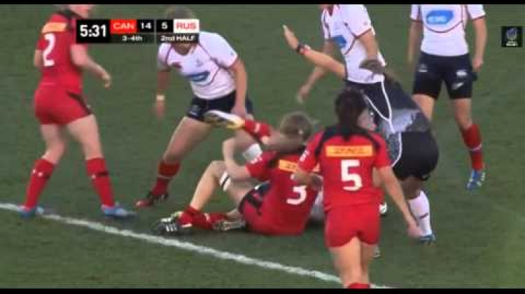 Canada v Russia 3rd/4th place match from Atlanta 7s 2015