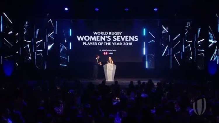 Michaela Blyde World Rugby wins World Rugby Women's Sevens Player of the Year 2018