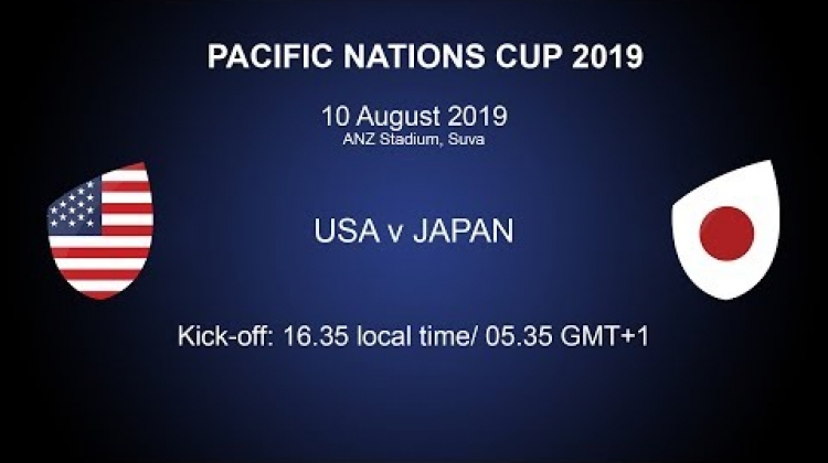 Pacific Nations Cup 2019 - USA v Japan