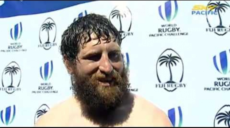 Hubert Buydens interviewed after Canada A defeat Junior Japan 69-17
