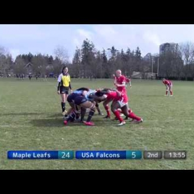 Maple Leafs v USA Falcons (Elite Women)