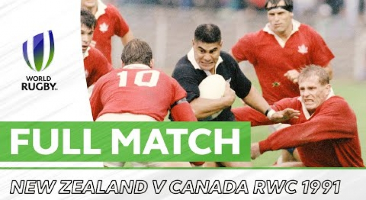 Rugby World Cup 1991 - New Zealand v Canada