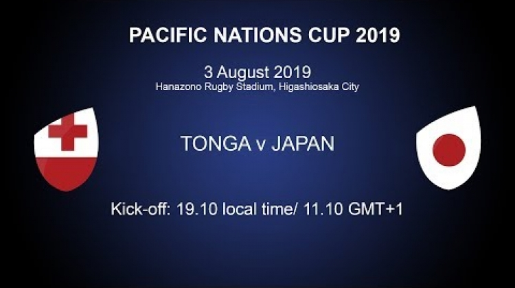 Pacific Nations Cup 2019 - Tonga v Japan