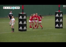 2017 International Women's Rugby Series — Canada vs. England — Highlights