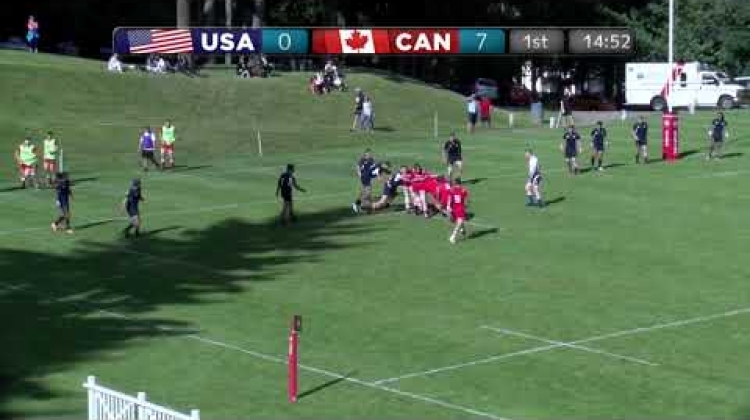 HIGHLIGHTS: Canada take game two over USA, 23-5