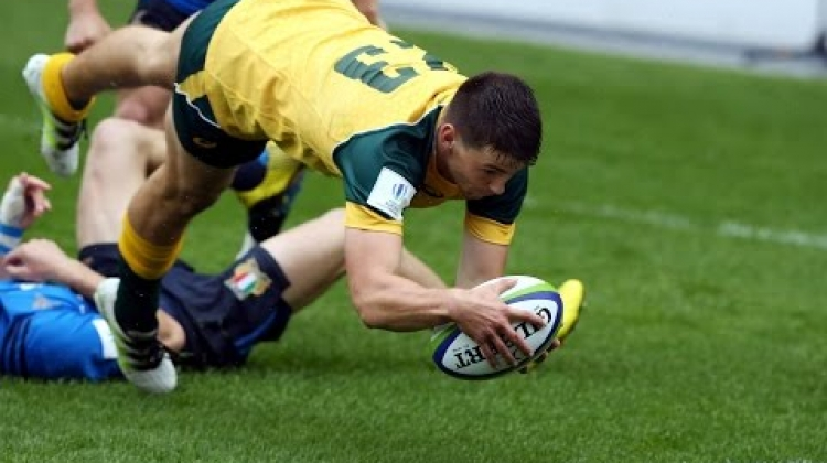 Australia U20s get bonus point win v Italy - Match Highlights