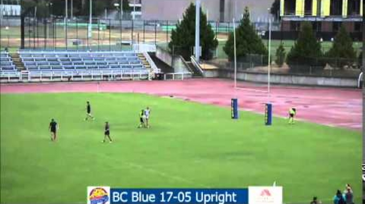 Victoria 7s - BCEY7s (Team Blue) vs Upright Rugby - July 11, 2015