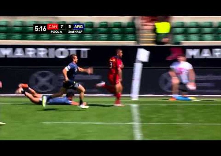 Rugby Canada Sevens - Day 1 Highlights - London 7s