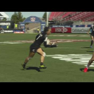 RE:LIVE: Portia Woodman finishes great NZ move