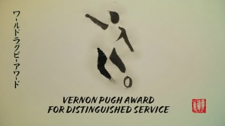 Bernard Lapasset wins Vernon Pugh Award for Distinguished Service