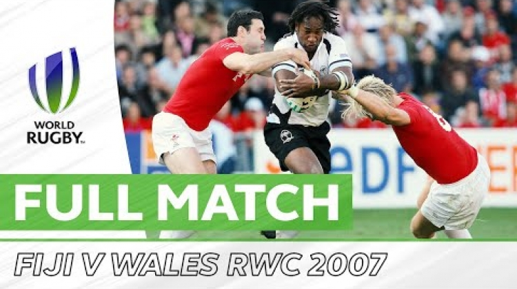Rugby World Cup: Dragon Slayers - RWC 2007 Fiji v Wales