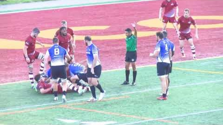 HIGHLIGHTS | Atlantic Rock defeat Ontario Blues in Montreal to open 2018 CRC