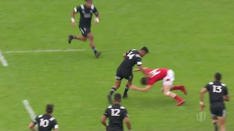 Bailyn Sullivan sets up brilliant New Zealand try