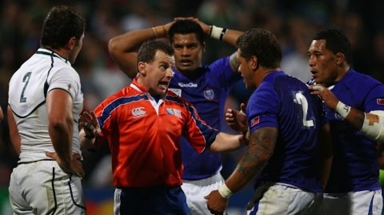 Nigel Owens' Best World Cup One Liners
