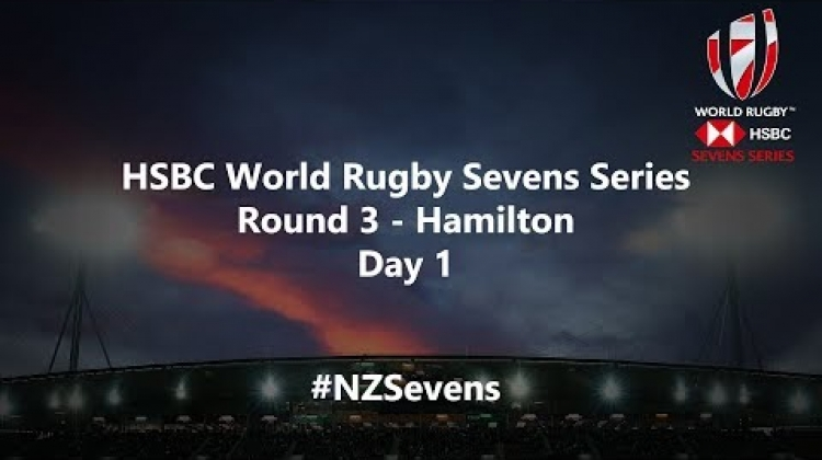 LIVE for day one of the HSBC World Rugby Sevens Series in New Zealand #NZSevens (French Commentary)