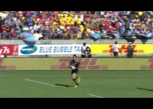 RE:Live - Ben Lam SMASHES through England pair for immediate try!