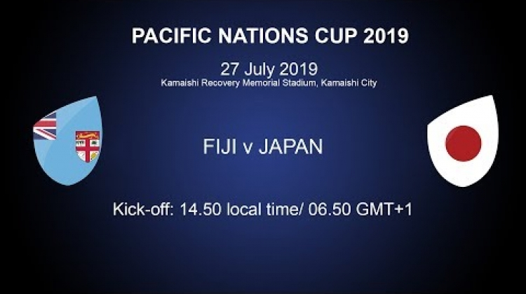 Pacific Nations Cup 2019 - Fiji v Japan