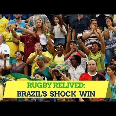 Brazil's shock win over USA | Rugby Relived