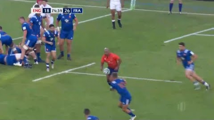 Carbonel's incredible dink through for France U20s