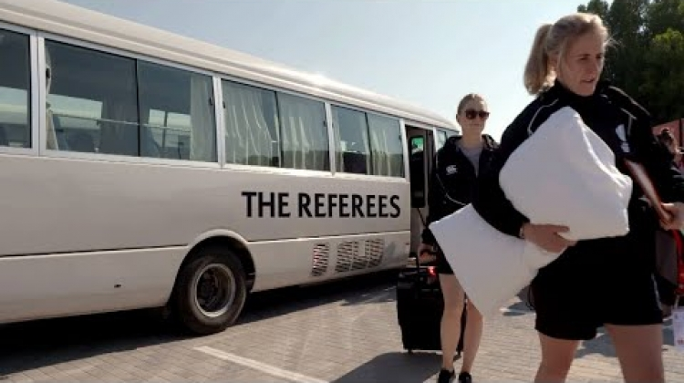 Sevens uncovered: Behind the scenes with the referees