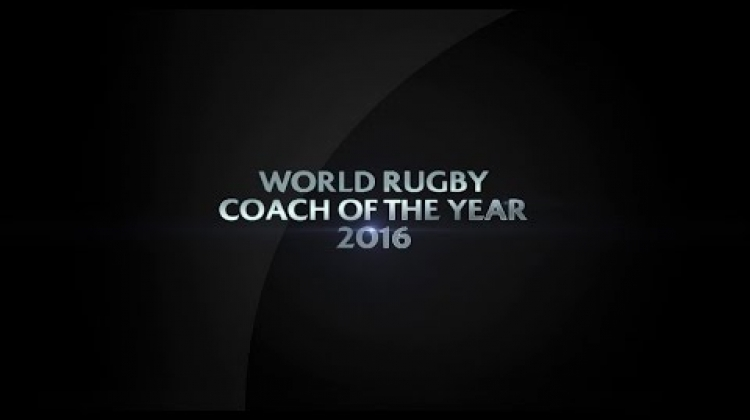 Coach of the Year | World Rugby Award Nominees 2016
