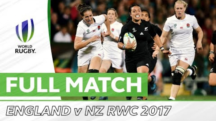 Women's Rugby World Cup 2017 Final: England v New Zealand